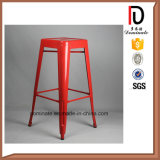 Tamborete de barra elevado dos pés do estilo industrial francês comercial