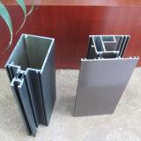 Le guichet de glissement ou l'aluminium personnalisé de porte a expulsé profil