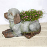 Современные декоративные собаки Flower Pot для выращивания бонсай регистрации декор для установки внутри помещений