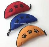 Ciotola pieghevole di viaggio sveglia del cane dell'alimento del cucciolo dell'animale domestico