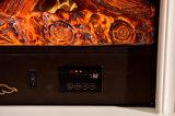 Cheminée électrique en type de la CE de sculpture de meubles européens approuvés de maison