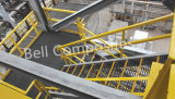 Système à rails de main. Semelles d'escalier de FRP, échelles de fibre de verre, passages couverts de fibres de verre