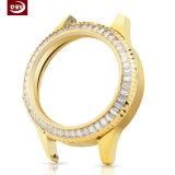 Montre-bracelet en acier de dames de logo personnalisée par OEM