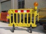 Загородка барьера безопасности дороги движения высокого качества пластичная