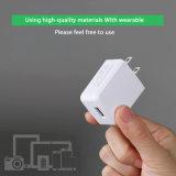 Singolo bianco della porta 1.5A noi caricatore del USB del telefono mobile