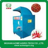 Macchina automatica della raccoglitrice del pepe di peperoncino rosso rosso del macchinario agricolo