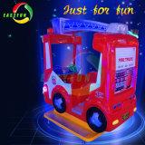 Equipamento para o parque temático caminhão de incêndio Carro de giro da máquina de jogos para crianças