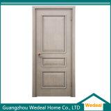 La puerta del panel de madera laminada de PVC para el proyecto