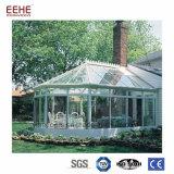 Fabricant de vitrage à isolation thermique en aluminium maison de jardin