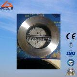150lb / 300lb API6d double plaque / double plaque Wafer Type Swing Check Valve (GAH76H)