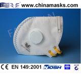 Nichtgewebte Gesichtsmaske mit Atem-Ventil und Cer