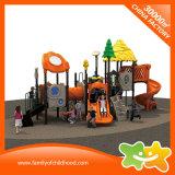 Im Freienkind-Plastikschauspielhaus-Spielplatz-Geräten-Plättchen für Verkauf