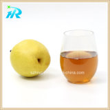 16oz Glas van de Wijn Custome van de fabriek het In het groot Plastic Stemless