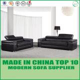 Sofá de couro da mobília 1+2+3 Home modernos brancos de Loveseat
