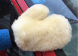 Sheepskin Car Cleaning tools wash-out Mitts with Mesh bake simmer
