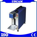 En línea de fibra de YAG 20W 30W de marcado láser máquina de marcado de metal del anillo