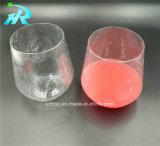 copo de café personalizado Riedel plástico do vidro de vinho do vinho 12oz