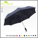 Paraguas portable del recorrido 190t de los mini hombres del estilo