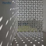 Pantalla decorativa al aire libre del corte del laser de los paneles de pared del edificio