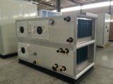 Ar modular do quarto desobstruído que segura o condicionador de ar de unidade com o líquido de limpeza de ar eletrônico