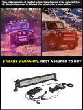RGB LEIDENE van de Duim DRL van de Controle van Bluetooth 5D 22 Lichte Staaf voor 4X4 Offroad Vrachtwagen van de Jeep