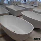 목욕탕 Corian 자유로운 서 있는 인공적인 돌 샤워실
