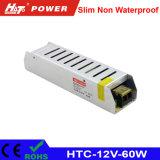 12V 5A 60W LED Schaltungs-Stromversorgung HTC des Transformator-AC/DC