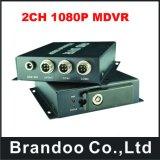 2チャネル1080P完全なHD移動式DVR
