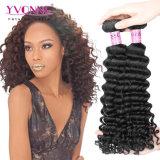 Yvonne GrossoVirgem Peruano Remy de cabelo humano profunda trama de onda