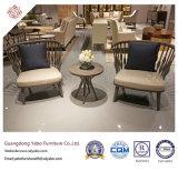 Mobília moderna do hotel com jantar da cadeira com Upholstery da tela (9178)
