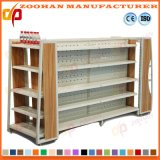New Customized Supermarket Retail Blind Metal Wooden Shelf (Zhs172)
