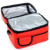 couleurs plus fraîches du conteneur 3 de déjeuner de paniers-repas de module d'isolation épaissies par double couche de paquet de glace du sac 8L pour des sacs de déjeuner de fonctionnement