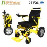 250W 무브러시 모터를 가진 2017 경량 전기 휴대용 접히는 휠체어