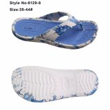 Mans and Women EVA Printed Upper Colorful Insolates Flip Flops Slippers