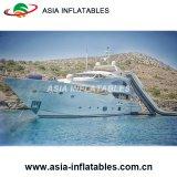 Yacht-aufblasbares Aqua-Plättchen, kundenspezifisches aufblasbares Yacht-Plättchen von Guangzhou