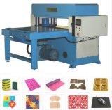 Máquina de cuero de escritorio automática de la prensa que corta con tintas que introduce