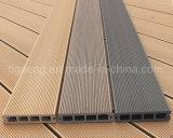 Деревянный настил строительного материала WPC PE напольный деревянный пластичный