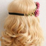 Accessoires de cheveux de gros de l'usine de filles bandeau de la couronne de fleurs artificielles