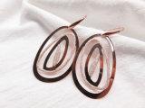 Brincos grandes Shinning modernos dos olhos da jóia acessória