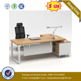 Самомоднейшая конструкция l стол офисной мебели менеджера формы (UL-MFC584)