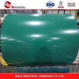 Dx51d Prepainted plancha de acero galvanizado hojas/PPGI bobinas de acero recubierto de color