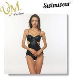 Чернота один Swimwear Bathingsuit Swimsuit чашки прессформы части