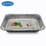 식품 공급을%s 알루미늄 호일 장방형 콘테이너