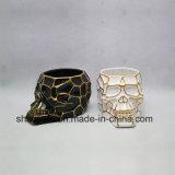 陶磁器の創造的なデザイン頭骨のタイプ植木鉢