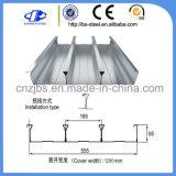 Hoja galvanizada de la cubierta de suelo de acero para los materiales de construcción