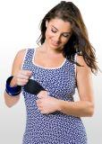 Болты с шестигранной головкой печать отпуска по беременности и грудного вскармливания хлопка Singlet платья