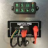 Switch-Pros Sp-8100 do Sistema do Painel de Interruptores Jeep Wrangler Jk Truck LED acende o guincho