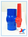 Blaues Belüftung-Kugelventil mit ISO9001/BSPT/DIN Standard