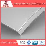 Comitato di parete solido di alluminio curvo per costruzione