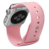 per la cinghia del silicone della vigilanza del Apple, cinghia di manopola molle di stile di sport della fascia di Iwatch del rimontaggio del silicone per il cinturino del Apple